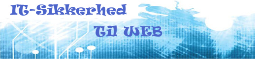 it sikkerhed til web med php